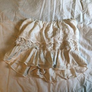 American Eagle Strapless Blouse